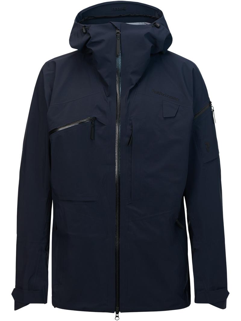 ピークパフォーマンス(PeakPerformance)アルパインジャケット(Alpine Jacket)カラー:2AC Salute Blue