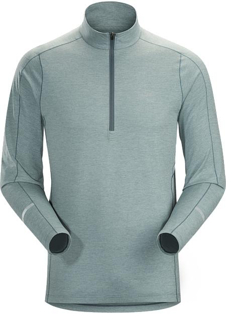 アークテリクス(ARC'TERYX)コーマック LS ジップネックシャツ(kadem-crew-neck-ls)カラー:Robotica