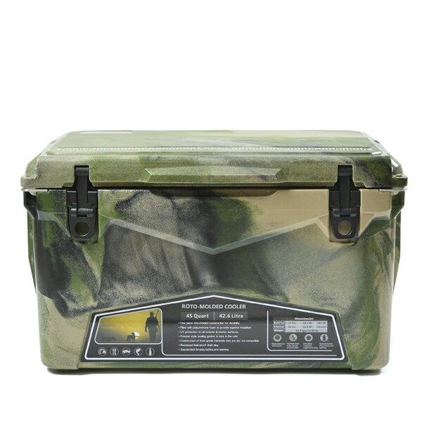 キュリアストレーディング(Curiace cooler Trading)アイスエイジクーラー45QT(ICEAGE Camo cooler 45QT)カラー:army Camo, きぬずれ:59511769 --- officewill.xsrv.jp