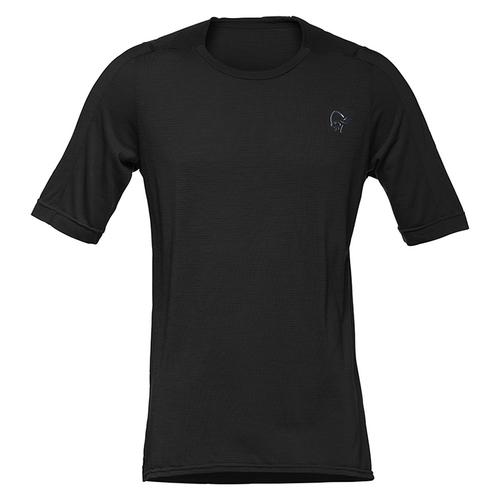 現品限り一斉値下げ! ノローナ(NORRONA)シーボットン ウール ウール イコライザーTシャツ(skibotn equalizer wool equalizer wool T-Shirt)カラー:Caviar, 南風堂:c511902c --- scottwallace.com