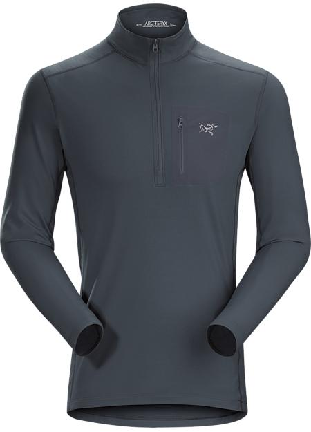 アークテリクス(ARC'TERYX)ロー LT ジップネック シャツ(rho lt zip neck)カラー:Orion