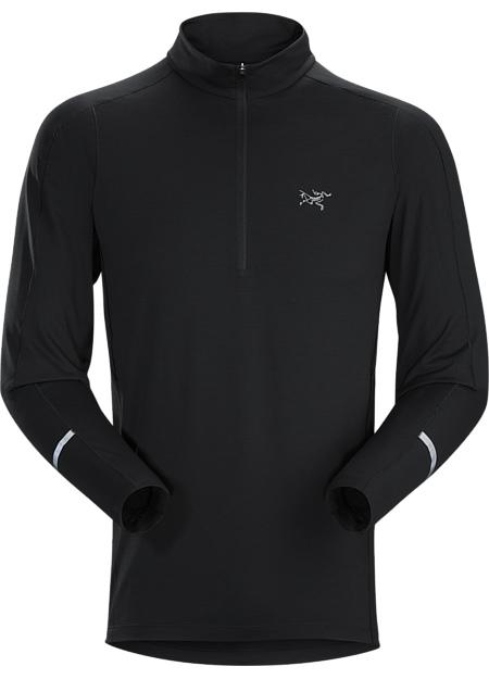 アークテリクス(ARC'TERYX)コーマック LS ジップネック シャツ(cormac-zip-neck-shirt-ls)カラー:Black