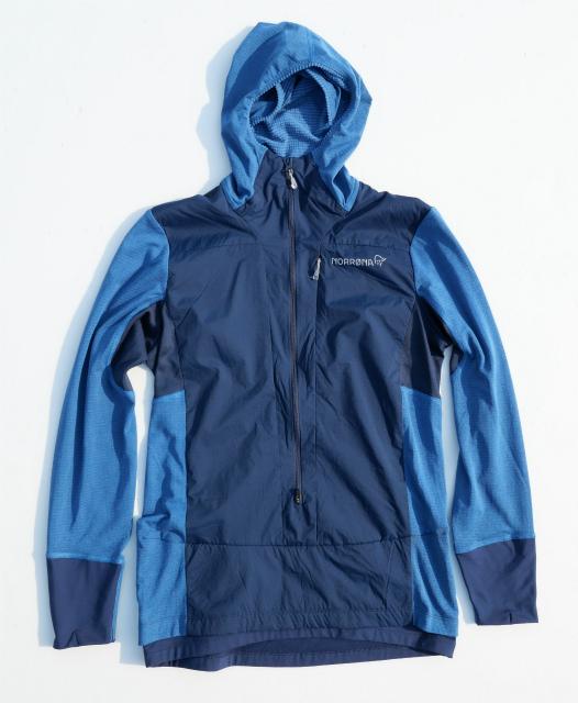 ノローナ(NORRONA)ビティホーンアルファフードシャツ(bitihorn Alpha Hood Shirt)カラー:Indigo