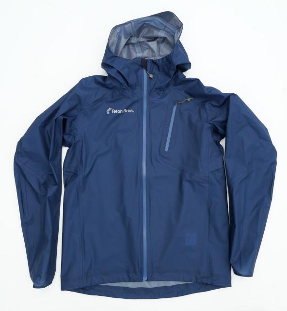 ティートンブロス(TetonBros.)フェザー レイン フルジップ ジャケット(Feather Rain Full Zip Jacket 2.0)カラー:Navy