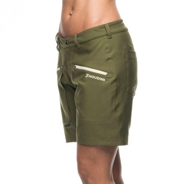 フーディニ(HOUDINI)ウィメンズ グラビティーライトショーツ(W's Gravity Light Shorts)カラー:Needle Green