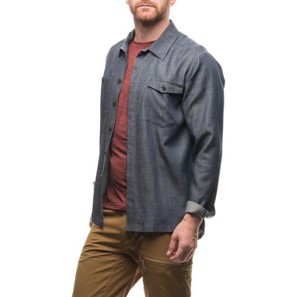 フーディニ(HOUDINI)キープカラムシャツ(Keep Calm Shirt)カラー:blue illusion