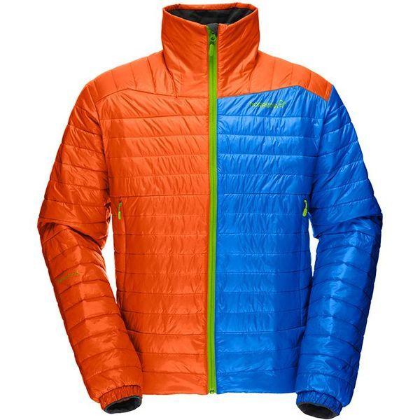ノローナ(NORRONA)フォルケティン プリマロフト60ジャケット(falketind primaloft60 Jacket)カラー:Magma/Electric Blue