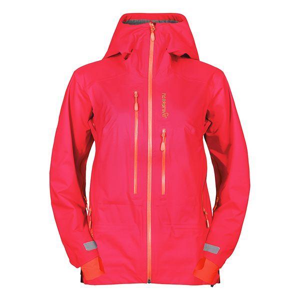 ノローナ(NORRONA)ウィメンズ リンゲン ドライフレックススリー リンゲン Jacket ジャケット(lyngen driflex3 Jacket driflex3 Women's)カラー:Jester Red, ネオネットマリン:3f5b9a56 --- officewill.xsrv.jp
