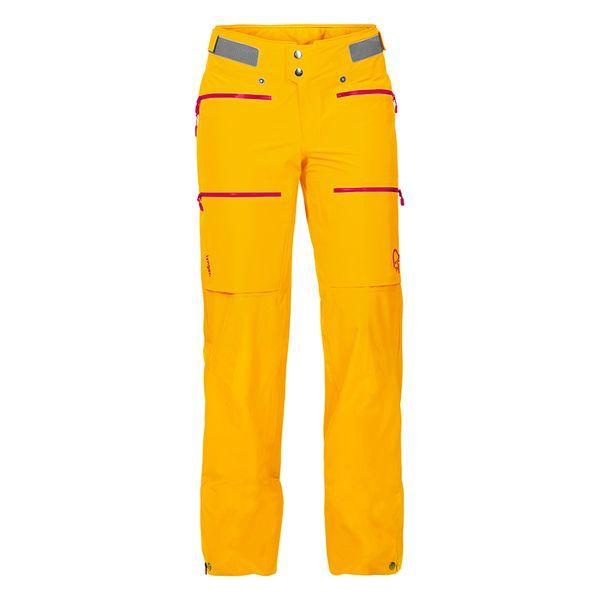 ノローナ(NORRONA)ウィメンズ リンゲン ドライフレックススリー パンツ(lyngen driflex3 Pants Women's)カラー:Yellow Saffron