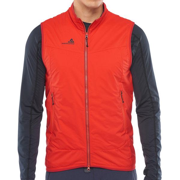 ウエストコム(Westcomb)インシュレーターベスト(Insulator Vest)カラー:Vermillion