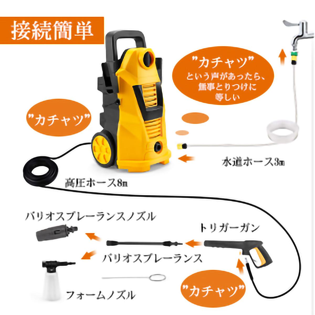 moosoo 高圧 洗浄 機