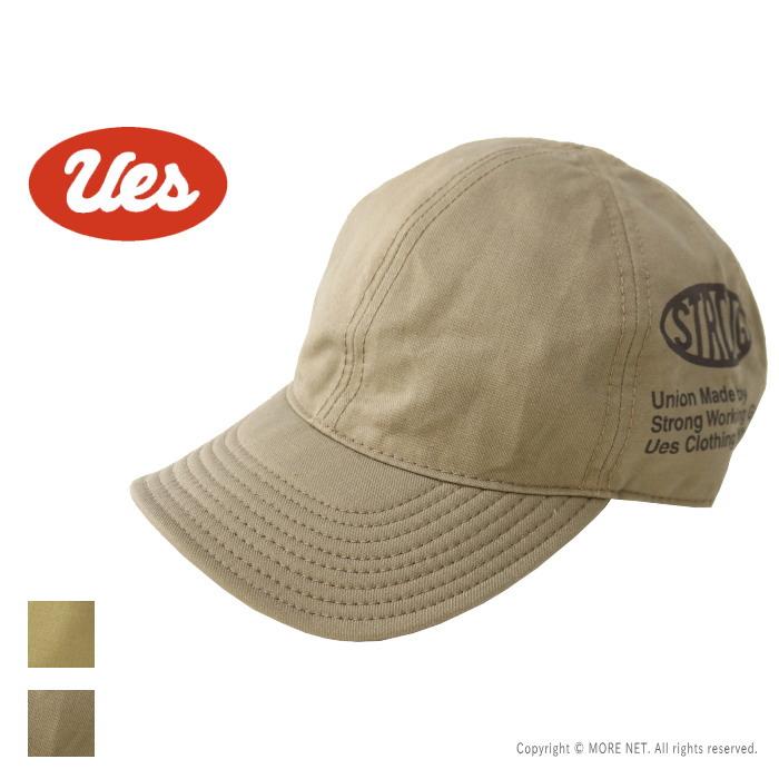 使うほどにヴィンテージ感のある風合いと愛着が増すベースボールキャップ ウエス UES 送料無料 爆安 11B 21W-8 2021秋冬 プリントベースボールキャップ 帽子 レディース 822151 メンズ 新品 送料無料