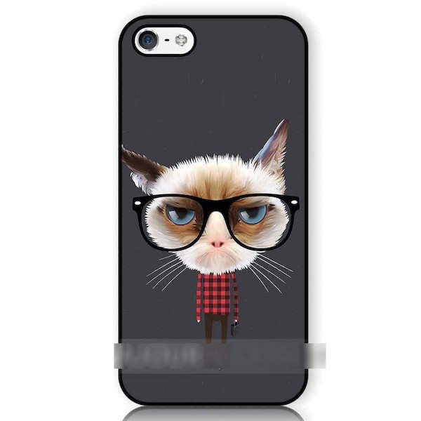 iPhone 12 Pro Max mini 11 等 他にも対応可能 送料無料 スマホケース ネコ 猫 黒縁 メガネ 眼鏡 カバー LG HTC Nexus 受注生産 送料無料限定セール中 Xperia iPod ラッピング無料 iPad アートケース Galaxy OPPO スマートフォン