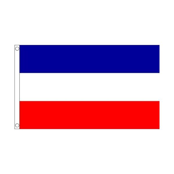 ゆうメール 送料無料 国旗 セルビア モンテネグロ 150cm × 格安SALEスタート フラッグ 最安値に挑戦 特大 受注生産 90cm