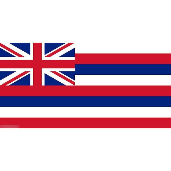 ゆうメール 送料無料 国旗 オンラインショッピング アメリカ ハワイ州 州旗 保証 90cm 受注生産 150cm × フラッグ 特大
