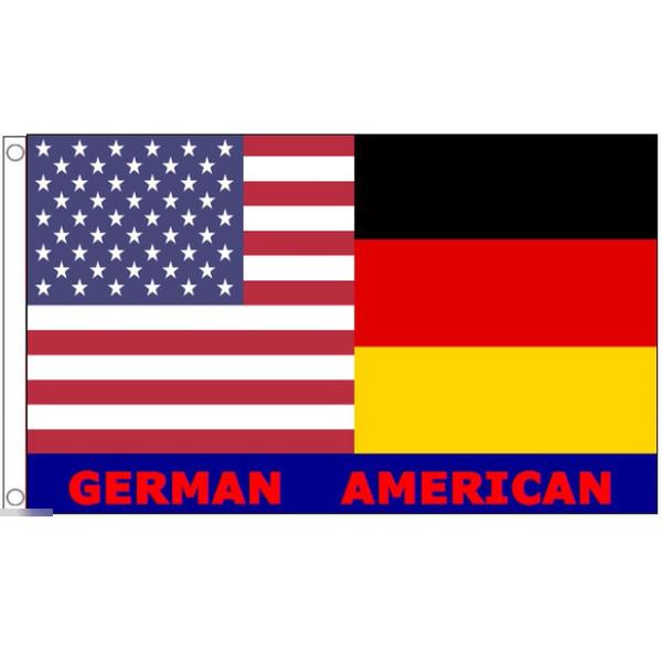 ゆうメール 送料無料 国旗 高級な アメリカ合衆国 USA 星条旗 (人気激安) ドイツ連邦共和国 特大 フラッグ 受注生産 90cm × 150cm 友情旗