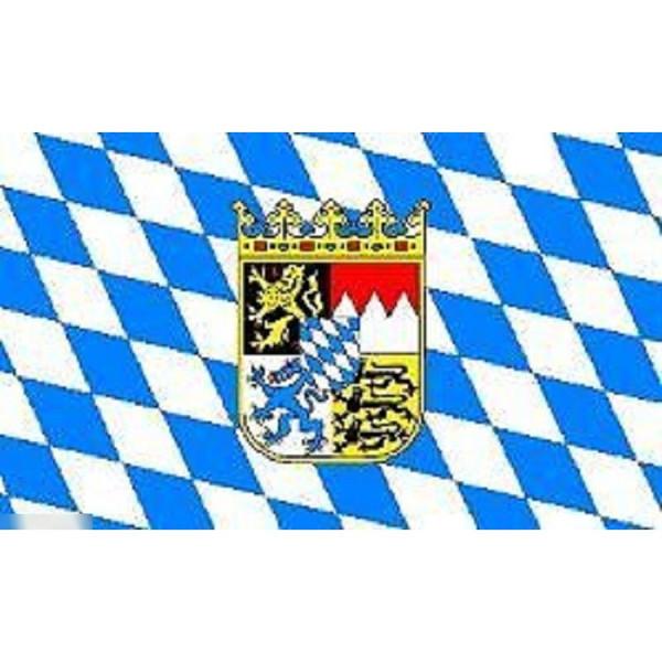 ゆうメール 送料無料 国旗 バイエルン州 ババリア ドイツ連邦共和国 フラッグ 90cm × 無料 高級品 特大 150cm 受注生産