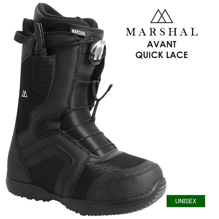 MARSHAL マーシャル AVANT QUICK LACE アバント クイックレース スノーボード ブーツ メンズ レディース【モアスノー】