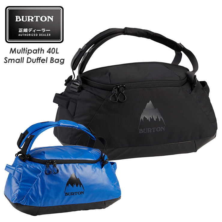 正規品 20-21 全国どこでも送料無料 アウトレット BURTON バートン Multipath 40L Small Duffel モアスノー 期間限定お試し価格 収納 マルチパスダッフルバッグ スキー Bag スノーボード