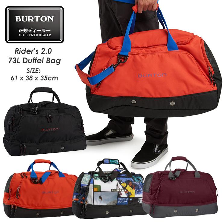 正規品 20-21 アウトレット BURTON バートン Rider's 2.0 73L 収納 モアスノー スノーボード スキー Bag 通販 ライダーズダッフルバッグ Duffel 公式通販