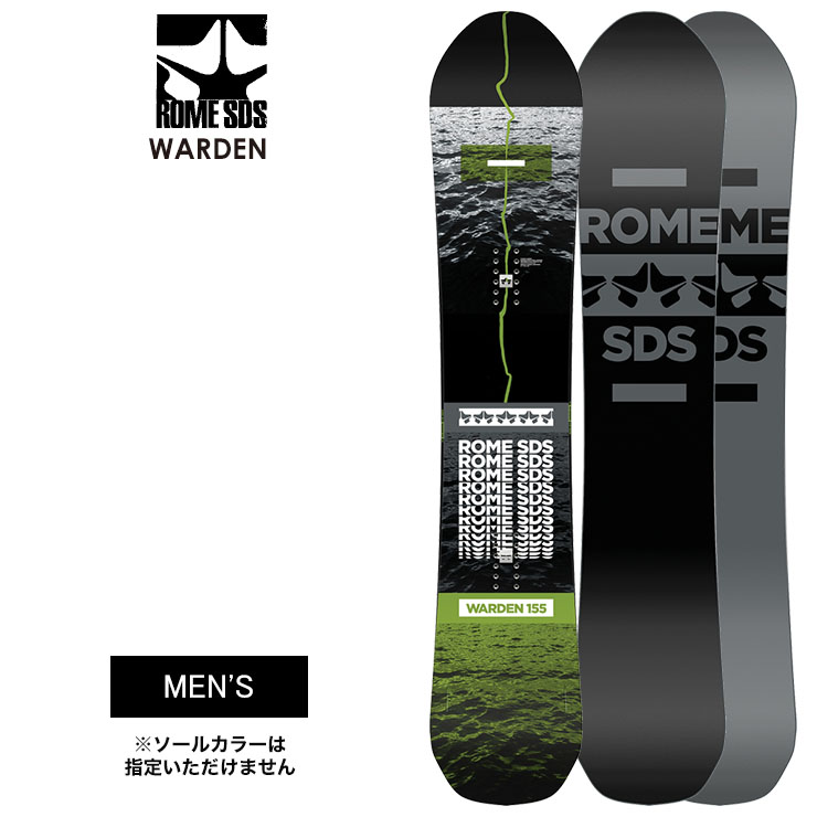 ROME ローム WARDEN ワーデン 2021 スノーボード 板 メンズ【モアスノー】