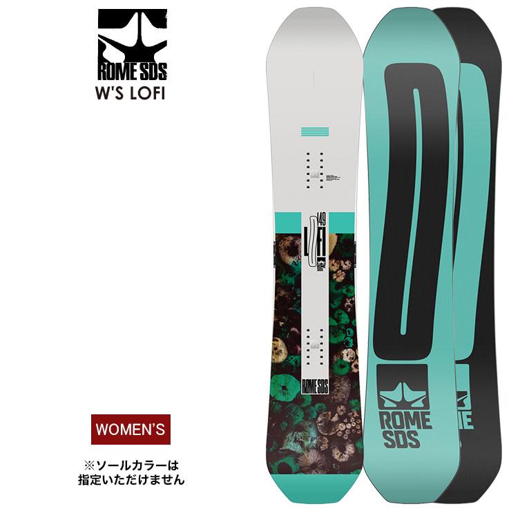 早期予約 ROME ローム W'S LOFI ローファイ 2021 スノーボード 板 レディース ウーメンズ【モアスノー】