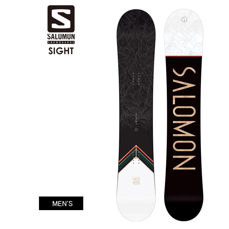 SALOMON サロモン SIGHT サイト 2021 スノーボード 板 メンズ【モアスノー】