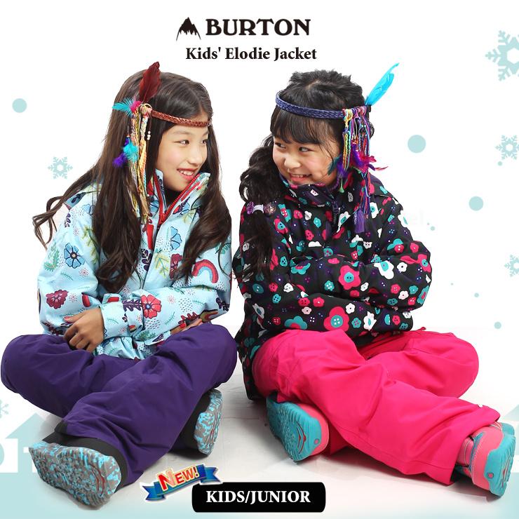 バートン キッズ ウェア スノーボード BURTON 20-21 BURTON バートン キッズ ウェア Kids' Elodie Jacket ジャケット スノーウェア スノーボード スキー 子供 ガールズ【モアスノー】