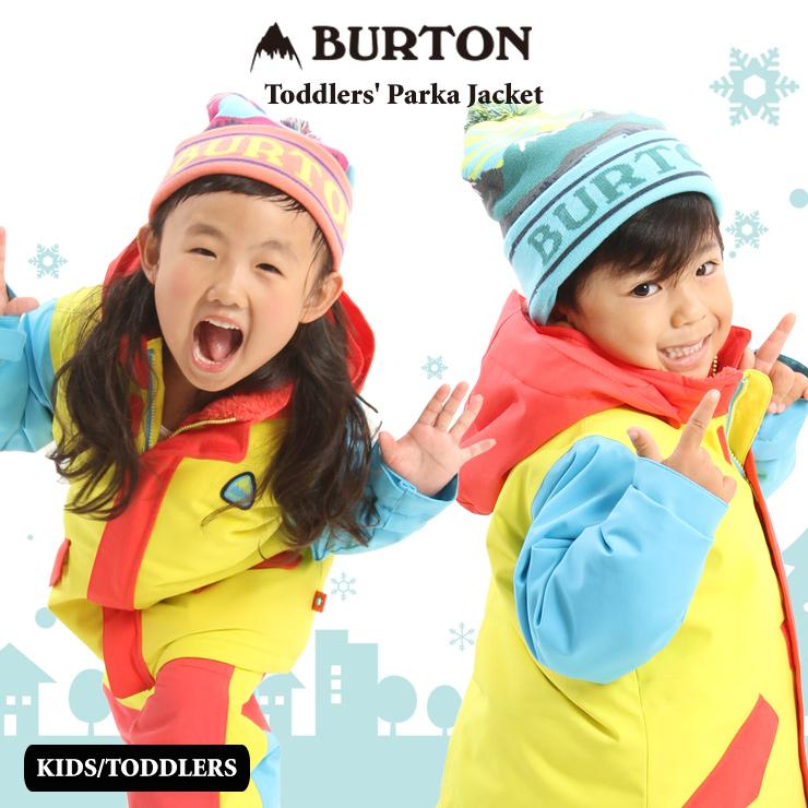 バートン キッズ ウェア スノーボード BURTON 20-21 BURTON バートン トドラー ウェア Toddlers' Parka Jacket ジャケット スノーウェア スノーボード スキー 子供 キッズ【モアスノー】