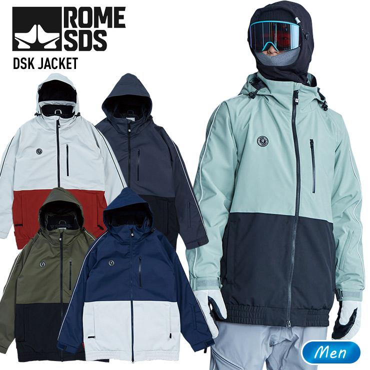 スノーボード ジャケット ウエア 【アウトレット】19-20 2020 ROME ローム DSK JACKET ジャケット メンズ スノーボードウェア スノーウェア スキーウェア【モアスノー】