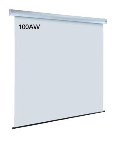 泉 サイレントモータードライブ式天吊りスクリーン 100インチ(アスペクト比4:3) IS-EV100AW