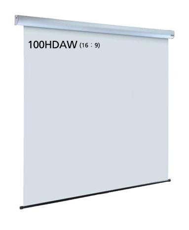 泉 サイレントモータードライブ式天吊りスクリーン 100インチ(アスペクト比16:9) IS-EV100HDAW