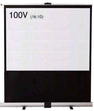 泉 パンタグラフ式フロアタイプスクリーン 100インチ RS-100V