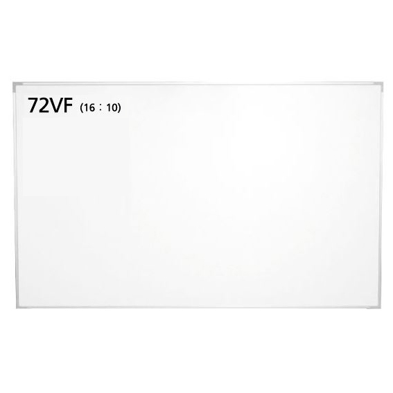 泉 壁掛けスクリーンボード 72インチ(アスペクト比16:10) WOL-BR72VF
