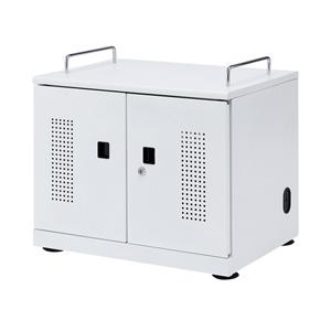 サンワサプライ タブレット収納キャビネット(20台収納) CAI-CAB103W