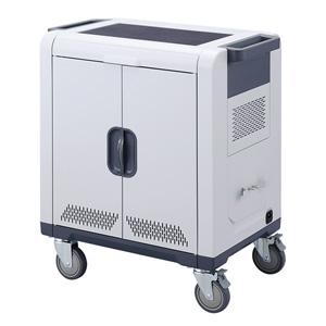 サンワサプライ ノートパソコン・タブレットAC充電保管庫(24台収納) CAI-CAB48