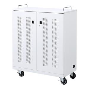 サンワサプライ ノートパソコン収納キャビネット(22台収納) CAI-CAB22N