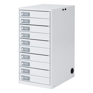サンワサプライ タブレット・スレートPC10台個別収納保管庫 CAI-CAB5N