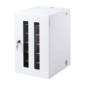 サンワサプライ スマートフォン・小型機器収納保管庫(12台収納) CAI-CABSP12N