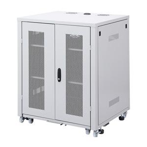 サンワサプライ スライダー棚付きサーバーボックス(W800mm) CP-SVBOX801