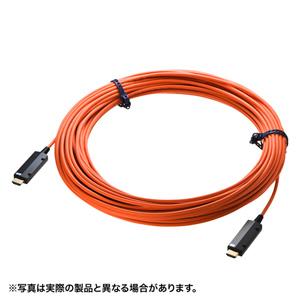 サンワサプライ HDMI2.0 光ファイバケーブル(50m) KM-HD20-PFB50