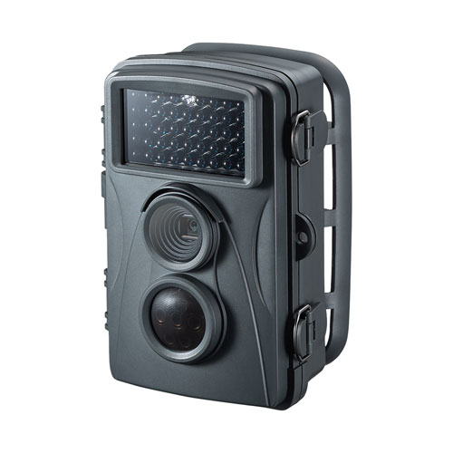 サンワサプライ 赤外線センサー内蔵セキュリティカメラ CMS-SC01GY