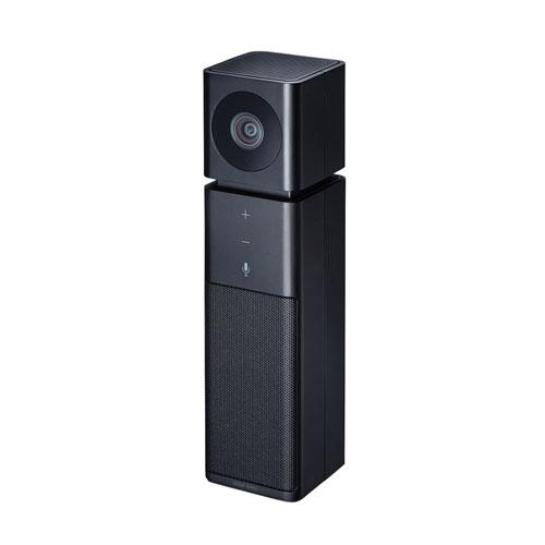 サンワサプライ カメラ内蔵USBスピーカーフォン CMS-V47BK