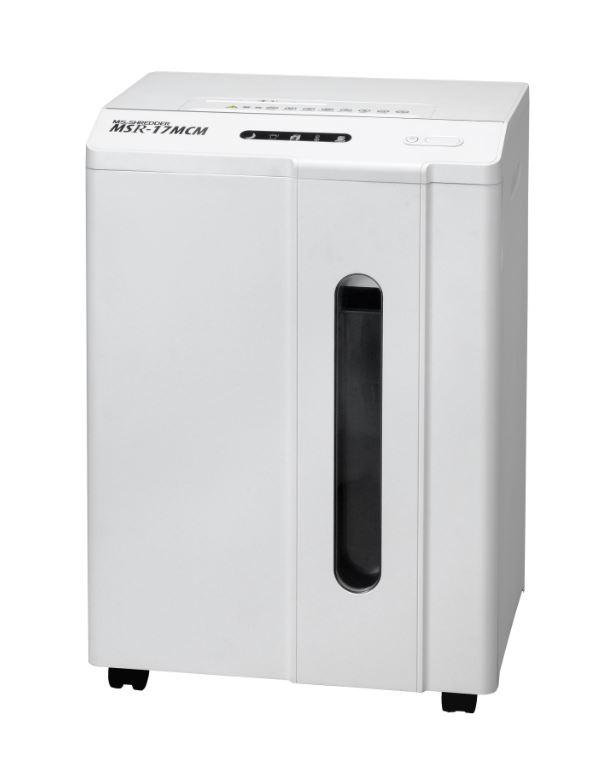 明光商会 MSシュレッダー A4サイズ対応 最大細断枚数17枚 細断サイズ2.0×10.0mm MSR-17MCM
