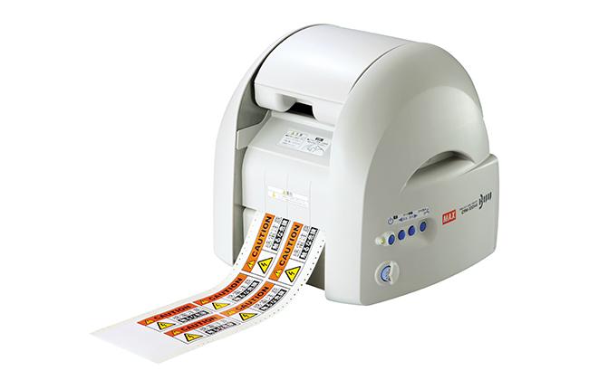 マックス ビーポップ フリーカットラベルプリンタ PC接続専用 CPM-100H5 [ IL90193 ]
