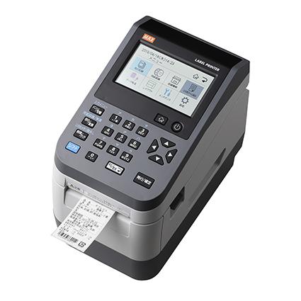 マックス 感熱ラベルプリンタ 食品表示法対応モデル LP-503S/BASIC [ IL90587 ]