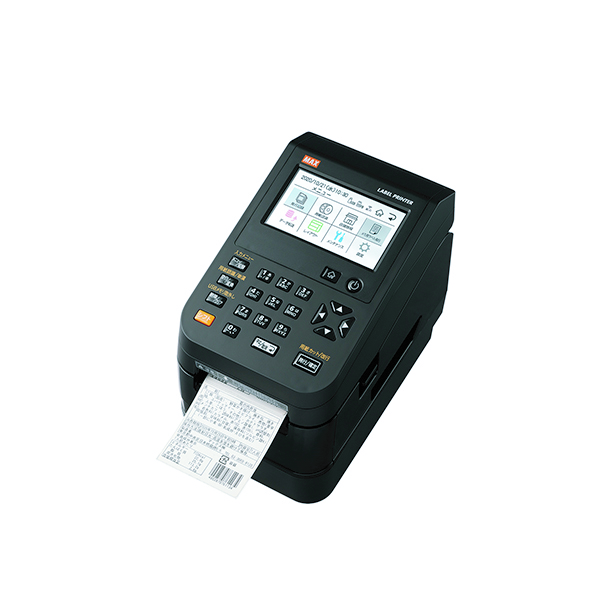 マックス 感熱ラベルプリンタ 300dpi ラベル作成ソフト 感熱紙ラベル付 送料無料カード決済可能 セール特別価格 IL90590 LP-700SA