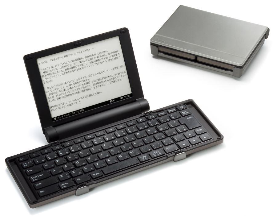 キングジム デジタルメモ「ポメラ」 ダークシルバー DM30