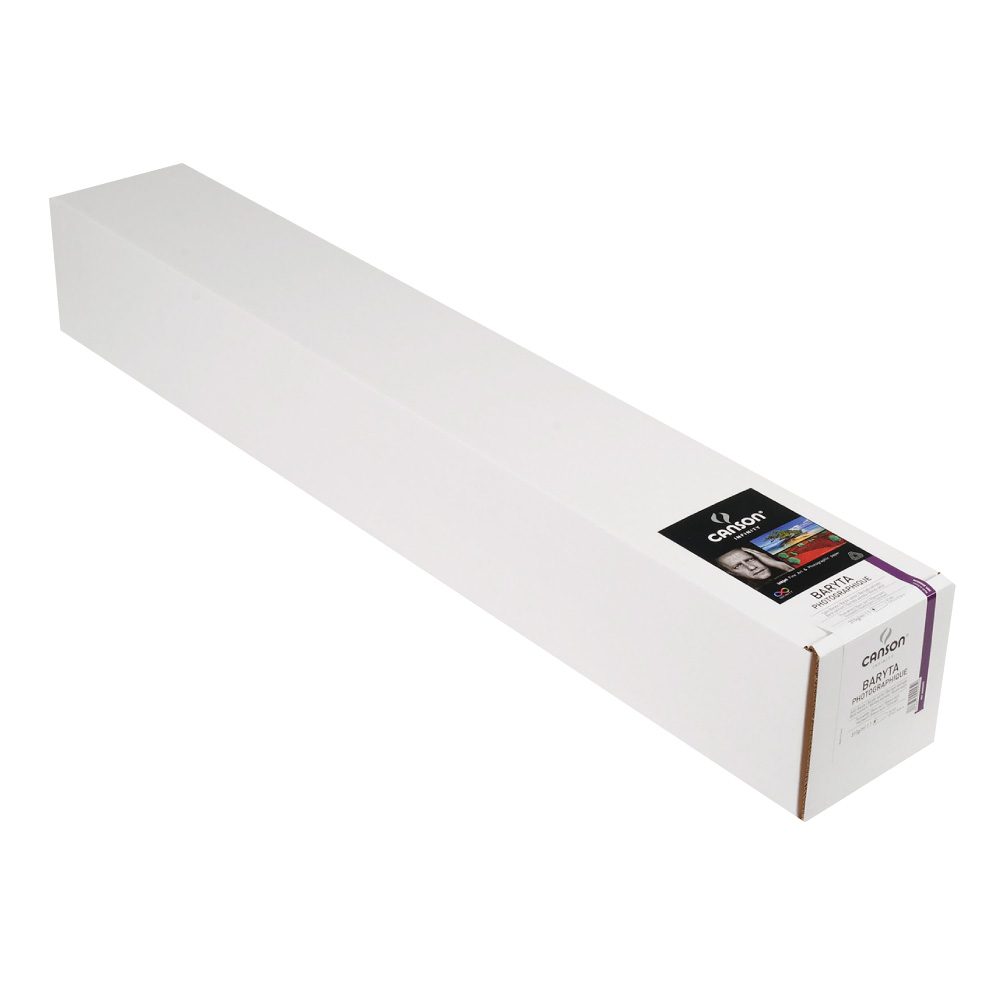 キャンソン インフィニティ フォト系インクジェット用紙 バライタ・フォトグラフィック 44インチ×50フィート 1本入