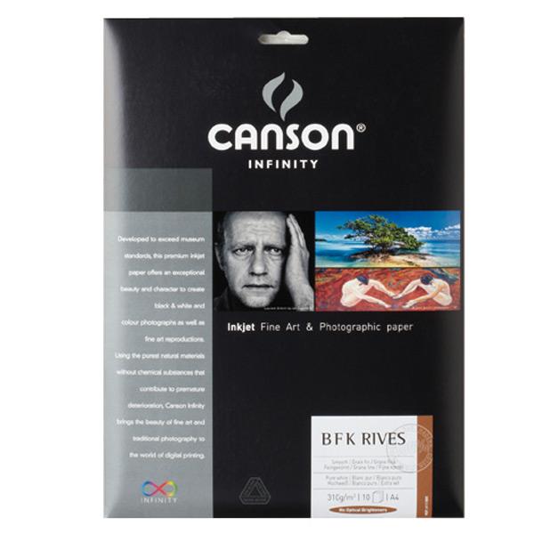 キャンソン インフィニティ 版画用紙ベース系インクジェット用紙 プリントメイキング・ラグ A4 25枚入